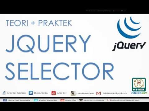 Mengenal Selector Element - Class - ID | Tutorial jQuery (part 2)