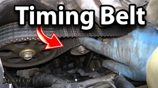 How To Replace A Water Pump And Timing Belt Yourself