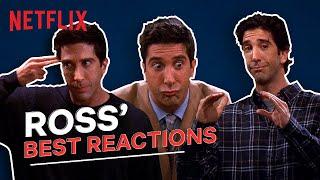 Ross Best Reactions | Friends | David Schwimmer | Netflix India