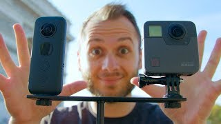 INSTA360 ONE X vs. GOPRO FUSION: Which Is Better?