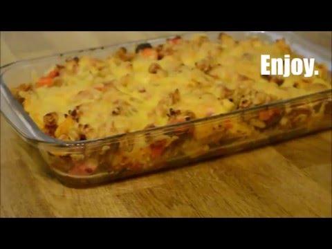 Chicken & Chorizo Pasta Bake   ArwenLouise   Ep10