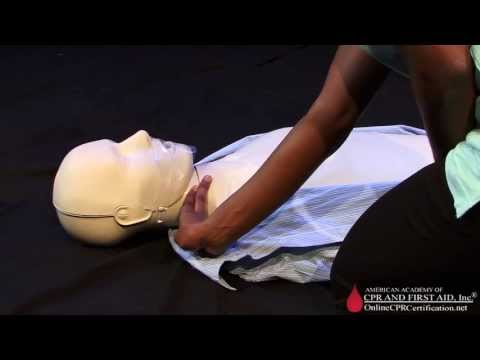CPR Training Video - How to Check Carotid Pulse