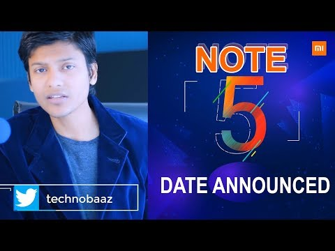 [HINDI] REDMI NOTE 5 Launch Date Announced Woow 14th Feb & Price ?? | TechnoBaaz