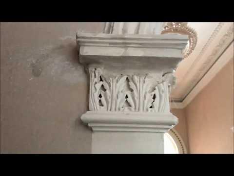 Plaster Corbel Repair