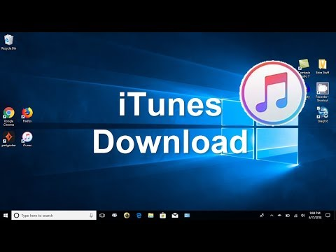 How to download iTunes to your computer and iTunes Setup - Latest Version 2018 - Beginners Video