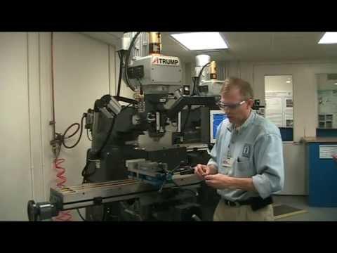 ATrump Mill R8 Collet Installation