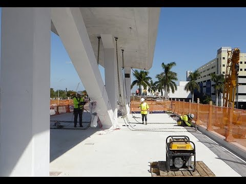 FIU BRIDGE COLLAPSE NEW VIDEO - MCM DOCUMENTED AS NOT BEING ABLE TO FOLLOW PLANS