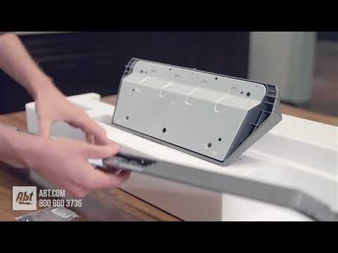 How To: Assemble And Install LG C8 Stand