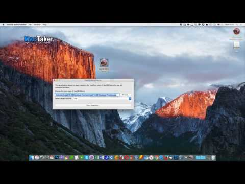 How to Make macOS Sierra 10.12 USB Boot Disk for Unsupported Macs