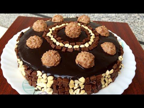 Ferrero Rocher Chocolate Cake | Kitchen Time with Neha
