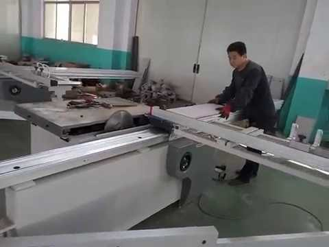 manufacturer of sliding table saw wood cutting panel saw