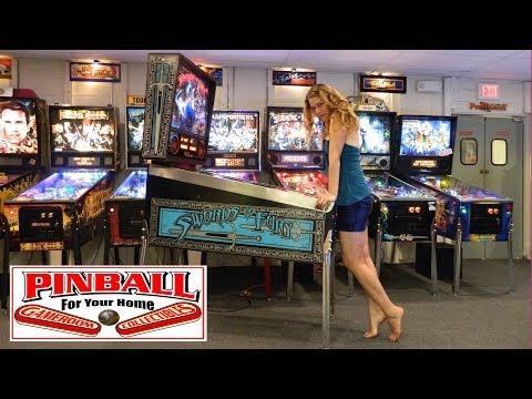 SWORDS OF FURY Pinball Machine ~ GRC Archive Gameplay ~ MAT Scores 6,299,050