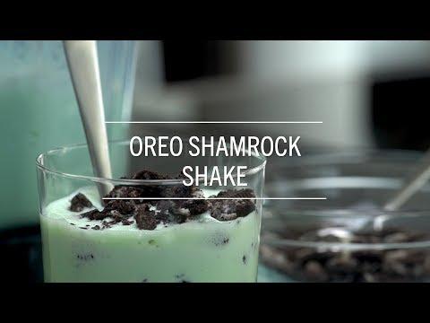 Oreo Shamrock Shake