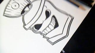 Cmo dibujar Lata de spray 5 Graffiti  VidsM