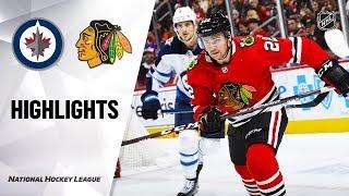 NHL Highlights Jets Blackhawks 11920