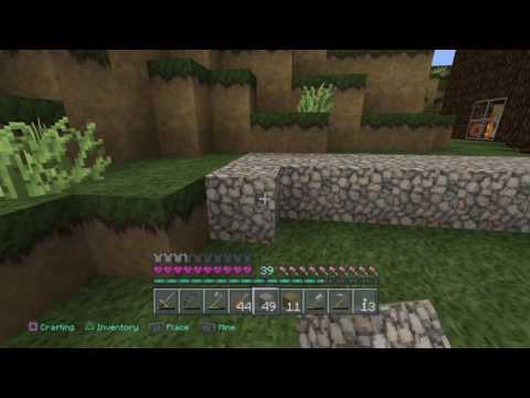 How to get flint in Minecraft: PlayStation 4 Edition