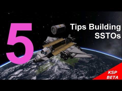 KSP 5 Tips Building SSTOs
