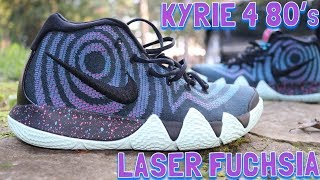 05 40 · Nike Kyrie 4 80s Laser Fuchsia Review   On Feet!! 1f692cfd7