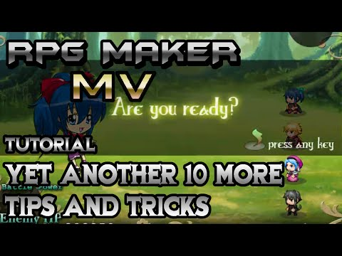 RPG Maker MV Tutorial: Yet Another 10 More Epic Tips and