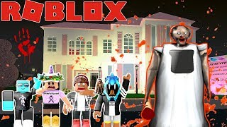 Granny Is Our Babysitter In Bloxburg!!!(bloxburg In The Dark)roblox Roleplay