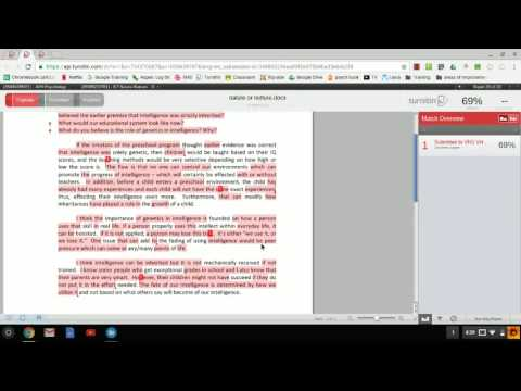 turnitin similarity reports   Edited