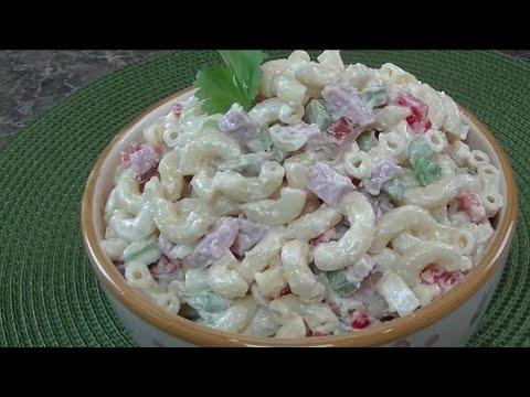 Macaroni Salad With Smoked Ham - Ohhlala Café  ♥
