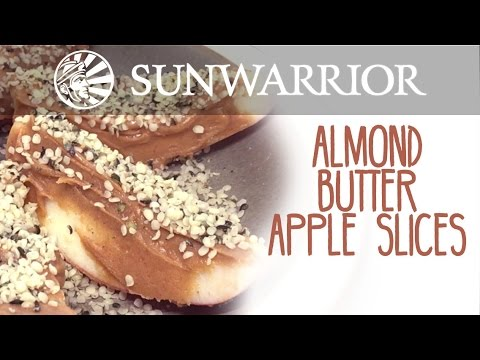 Almond Butter Apple Slices | Marzia Prince