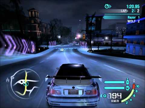 Need For Speed Carbon - Razor vs Boss Nr 2 Wolf [HD]