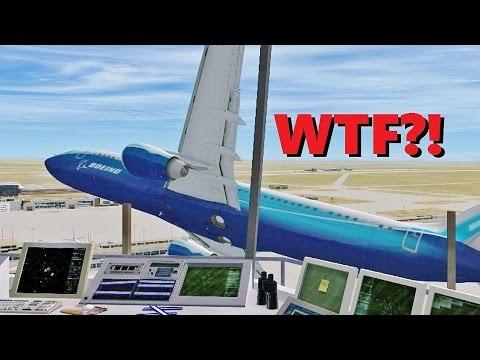 Flight Sim's Most STRESSFUL Job - Air Traffic Controller (Multiplayer)