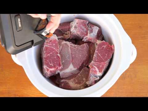 How to Make Barbacoa in the Slow Cooker | Qué Rica Vida