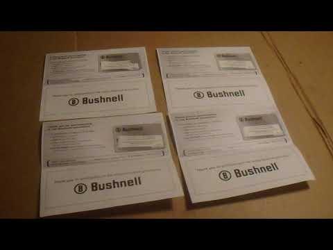 Some Bushnell Rebates Arrived