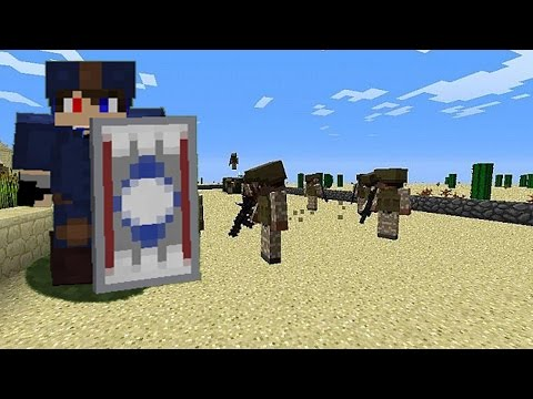 Minecraft: How to make Captain America Costume