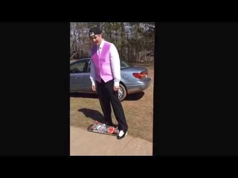 Skating in Prom Suit-Garrett aka(G-spot)