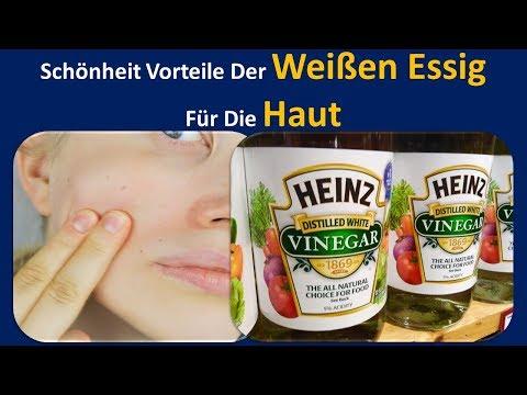 Schönheit Vorteile der Weißen Essig für die Haut | Seife freies Gesicht waschen & Haut Schnuller