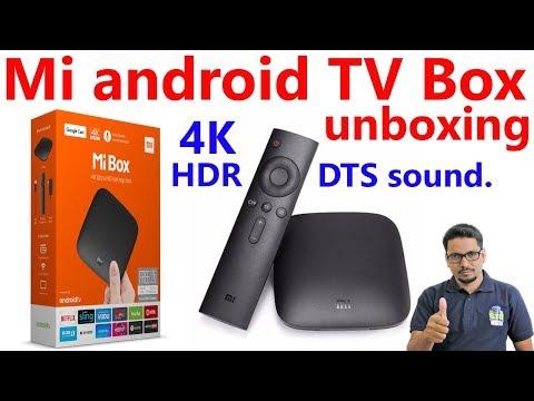Hindi || mi box android tv unboxing