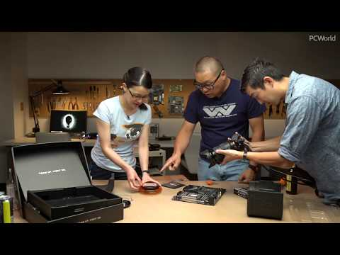Watch us build an AMD Threadripper 1920X-Nvidia GTX 1080 Ti PC, part 2: Building it live