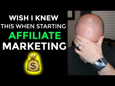 What I Wish I Knew When Starting Affiliate Marketing Beginner Advice