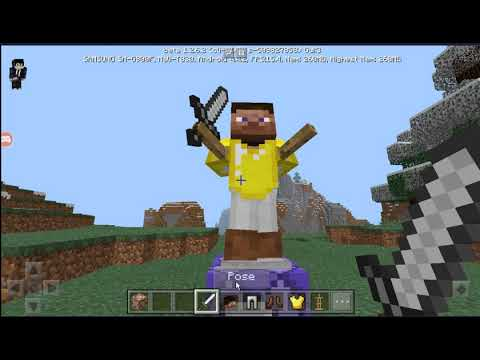 How To Get A Bodyguard In Minecraft PE.[2018]