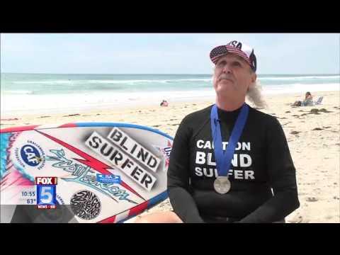 Fox 5 San Diego Spotlights 22nd Annual Blind Surf
