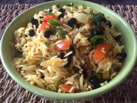 How to make Southwestern Style Rice   Easy Rice Recipe