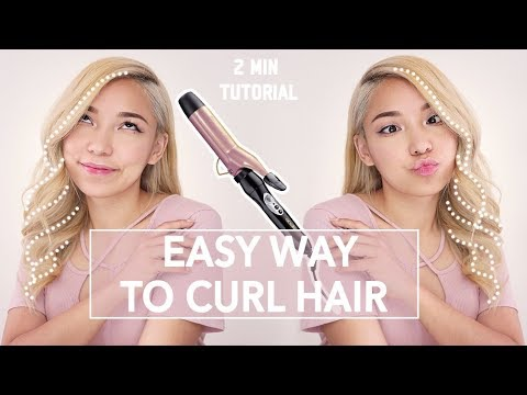 Save time, Look Fabulous!  Your NEW hair curling routine!