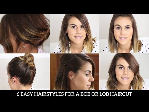 6 Easy Hairstyles for a Bob or Lob Haircut