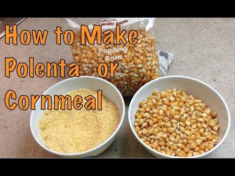 How to Make Polenta Cornmeal cheekyricho youtube