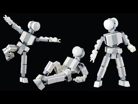 🞴 Small Poseable Figure - LEGO MOC Tutorial