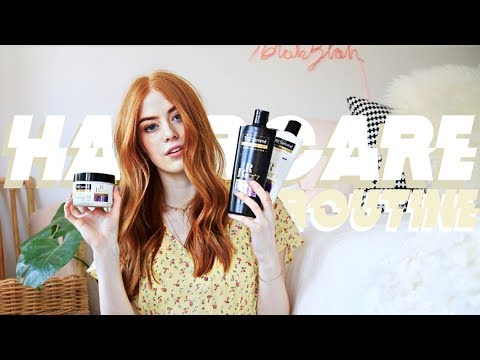 MY HAIRCARE ROUTINE! | MsRosieBea #AD