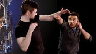 Beating Up A Black Panther Stunt Man!