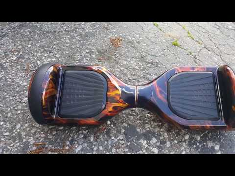 Hydro Dipped Hoverboard