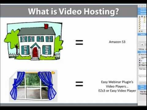 Easy Webinar:  What's the best video hosting solutions for your videos and webinars