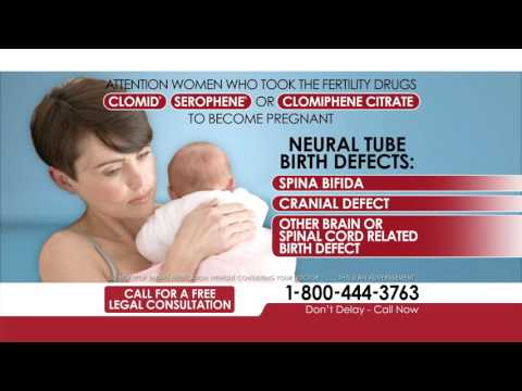Clomid, Serophene and Clomiphene Citrate Drug Recall