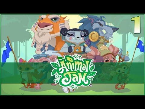 Turning Into a Rabbit & Adopting a Honeybee!! • Animal Jam - Episode #1